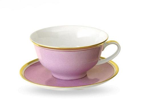 Teetasse und Untertasse