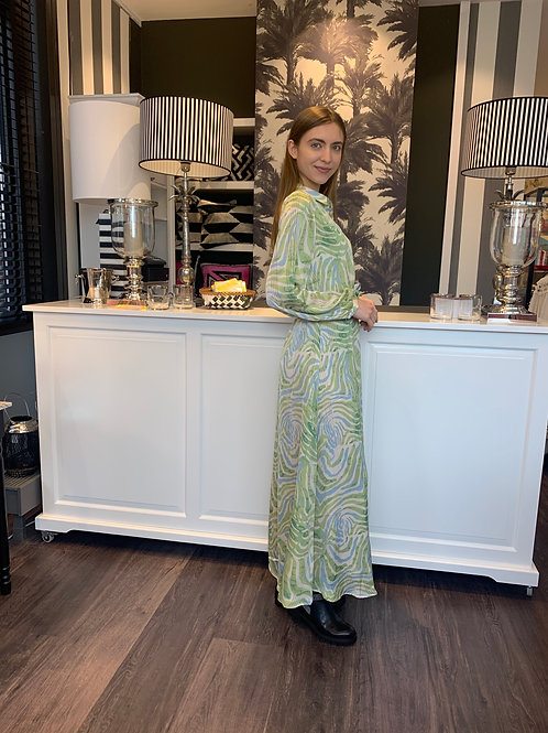 Frieda Zebra Kleid