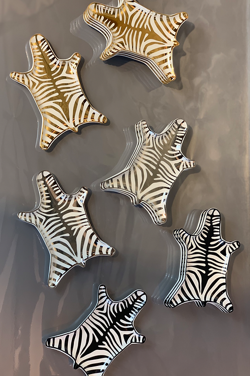 Jonathan Adler - Zebra Schälchen -Silber