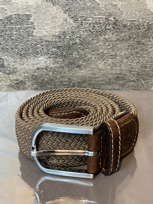 Gürtel –  TAUPE - Stretchband
