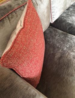 Kissen und Sofadesign