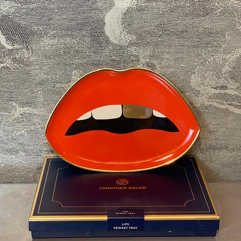 Jonathan Adler - Tray - Lips