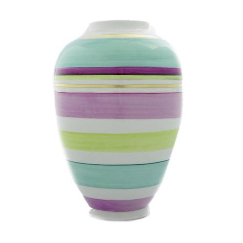 Vase - Reichenbach Porzellan - Colour Mix mit Gold