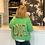 Thumbnail: Les Tricots D'O! Strickjacke - Mohair - Green Grafiti LOVE