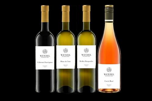 Wetzel Wein - 6 Flaschen köstliche Weinprobe