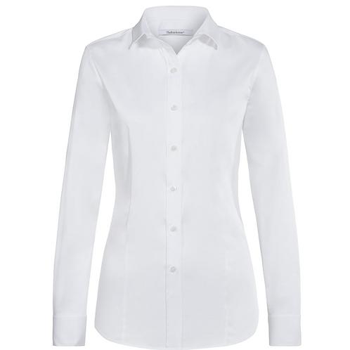 Soluzione Bluse - Baumwolle- Weiß
