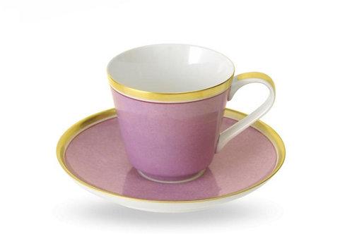 Kaffeetasse und Untertasse