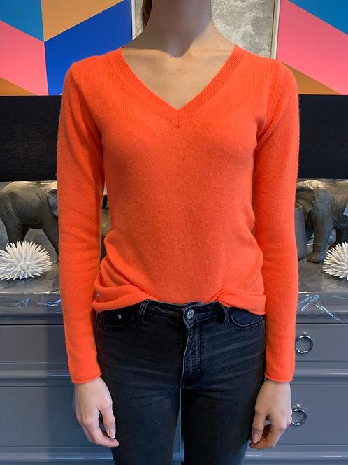Cashmere Pullover - Orange