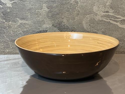 Bambus Schale D30 H10 – Braun
