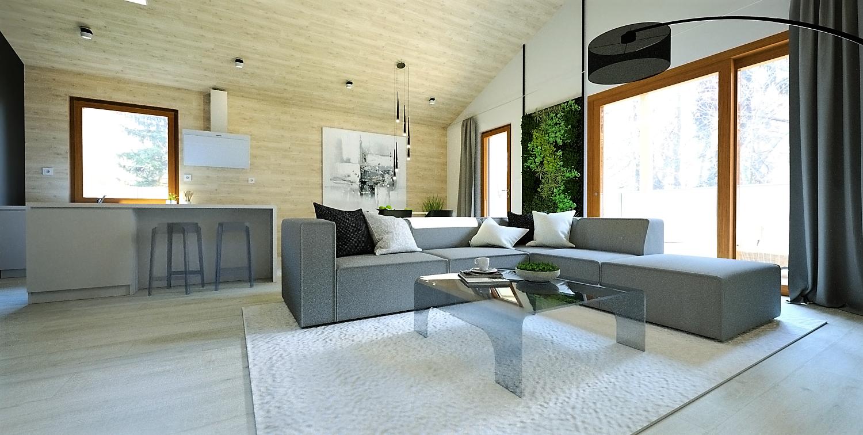 Obývacia izba s kuchyňou