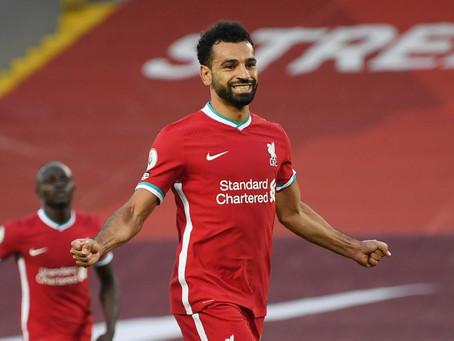 Four season wonder: Salah no topo europeu