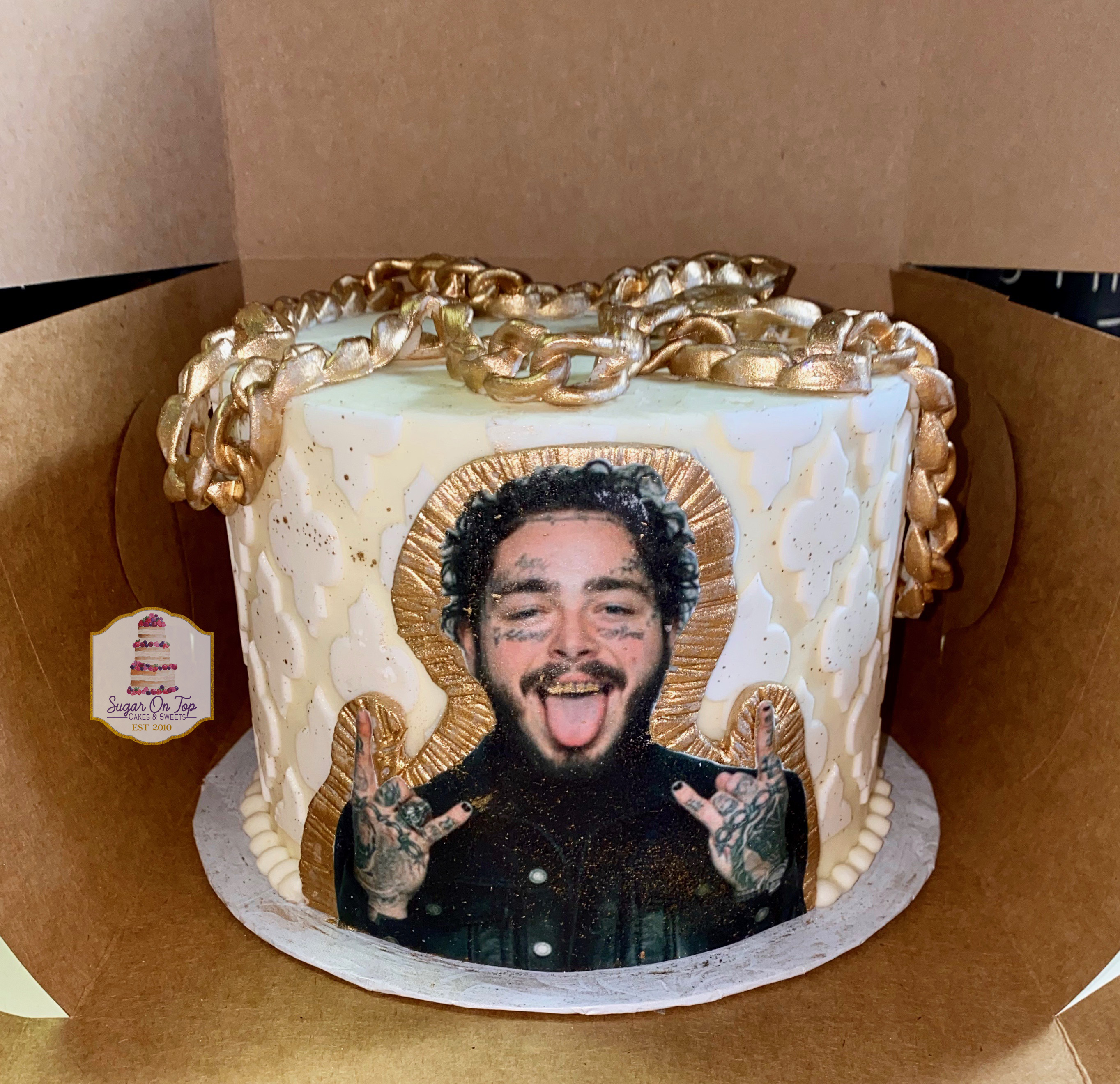 post malone cake