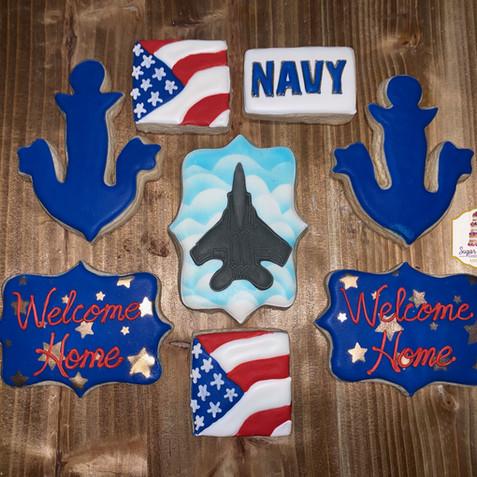 navy welcome home cookies.jpg