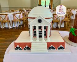 rotunda wedding cake