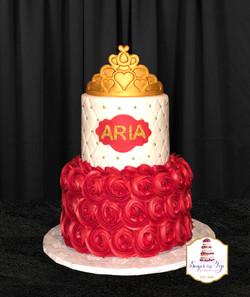 elena rosette cake 2