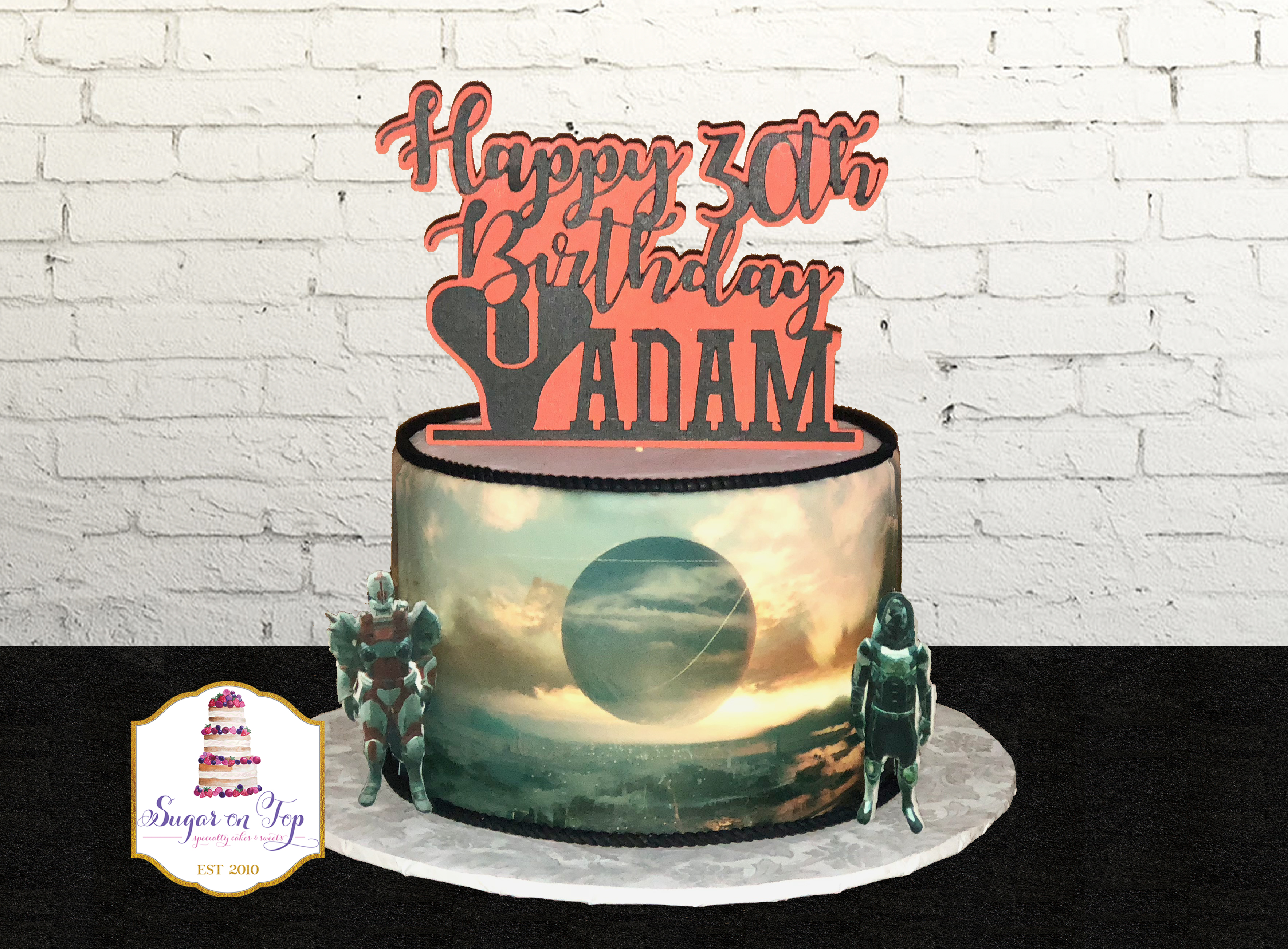 destiny 2 cake