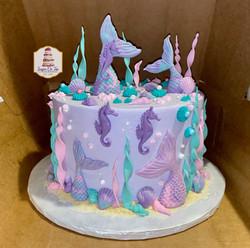mermaid cake-prezzie wife