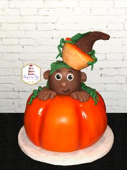 pumpkin baby cake