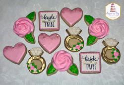 bride tribe cookies