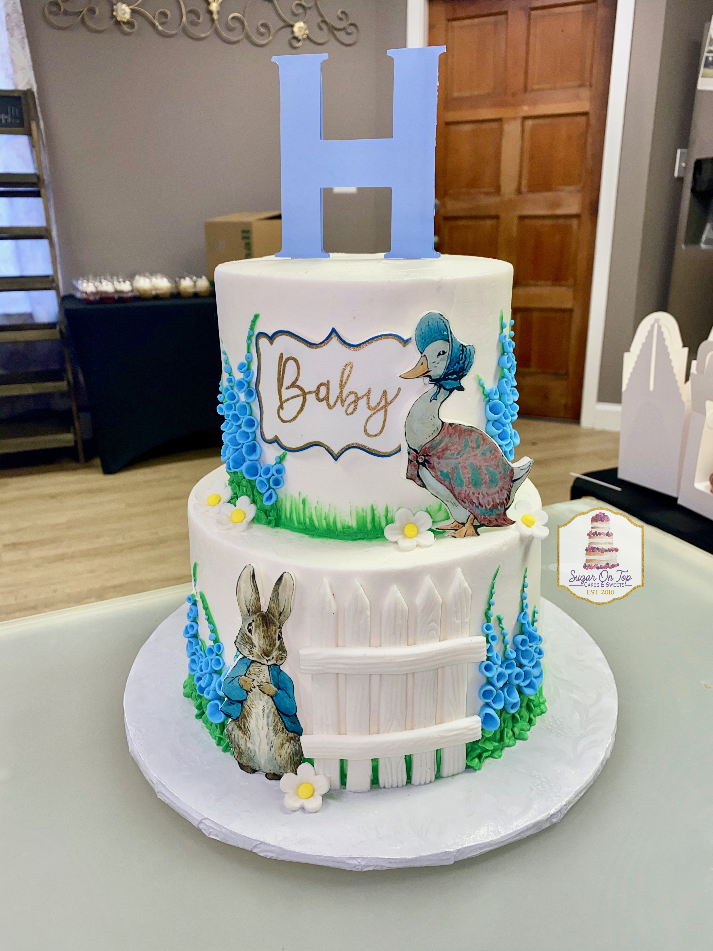 peter rabbit baby shower cake holbrooks.