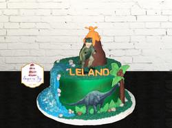 leland dino cake