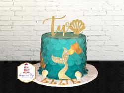 mermiad cake TWO
