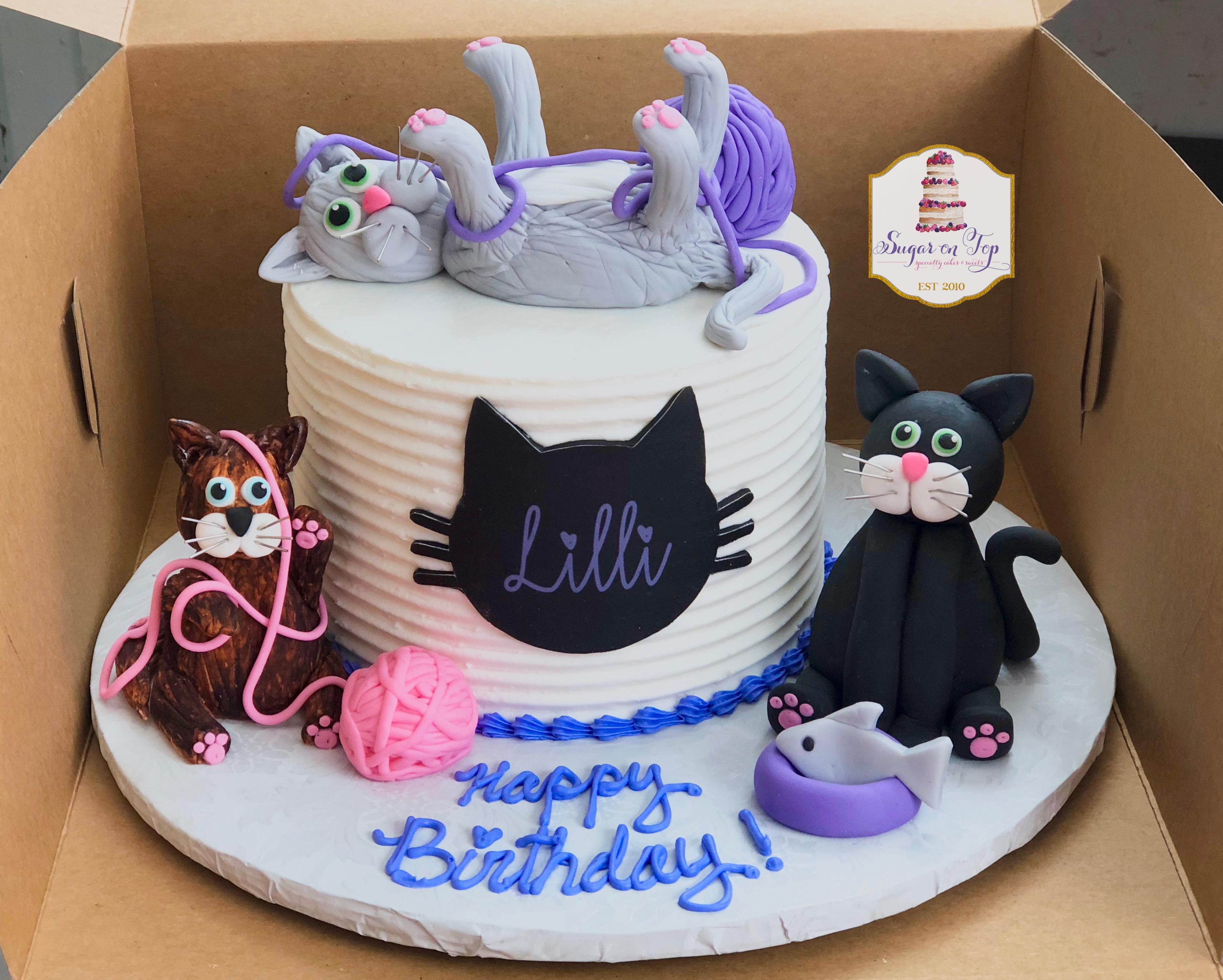 lilli cat cake