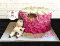 chubby unicorn cake2