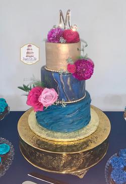 lawson mays wedding cake
