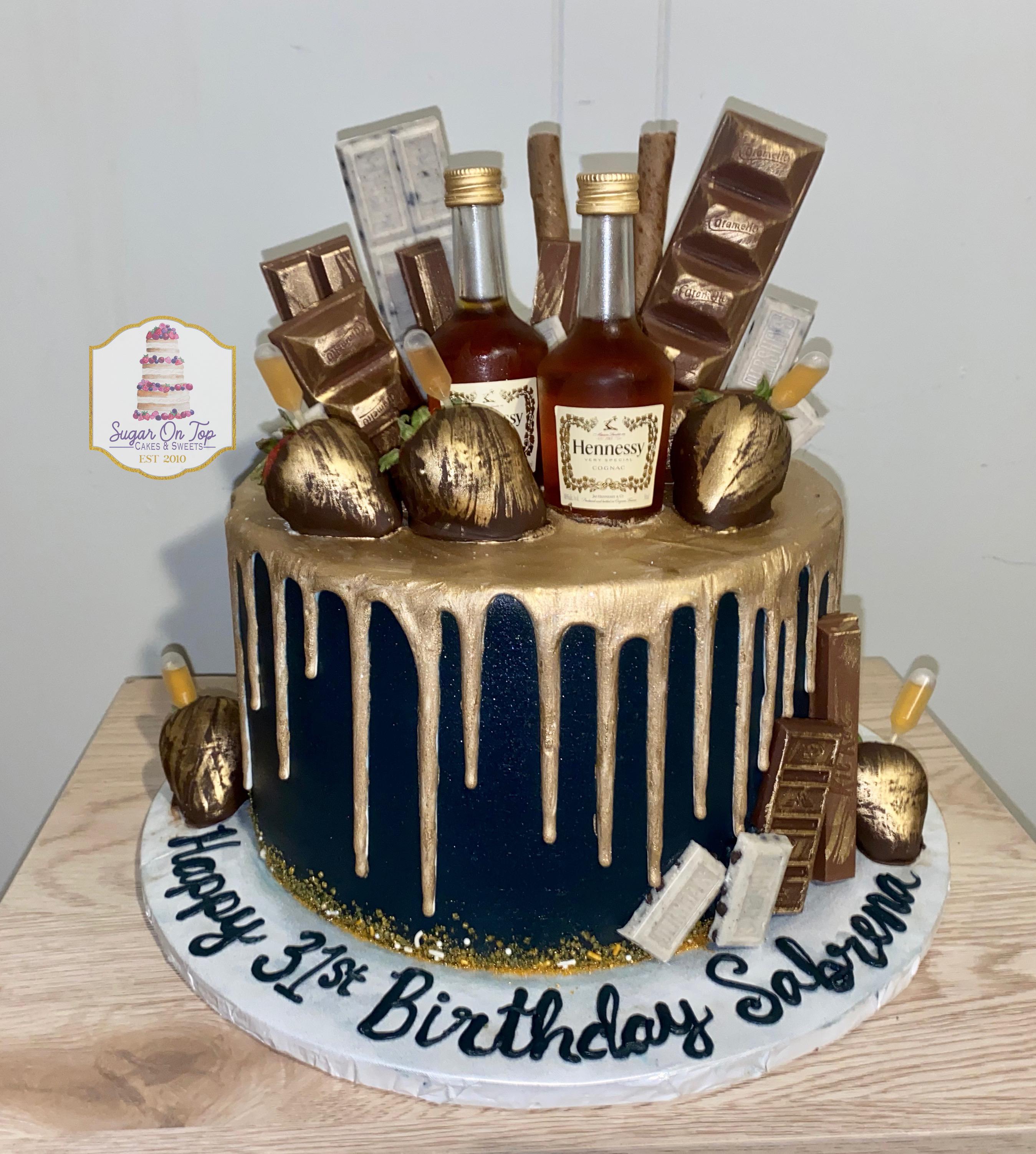 hennesy cake