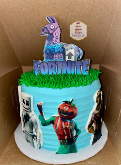 fortnite cake AIDEN