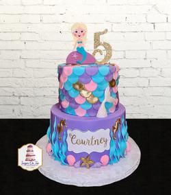courtney mermaid cake