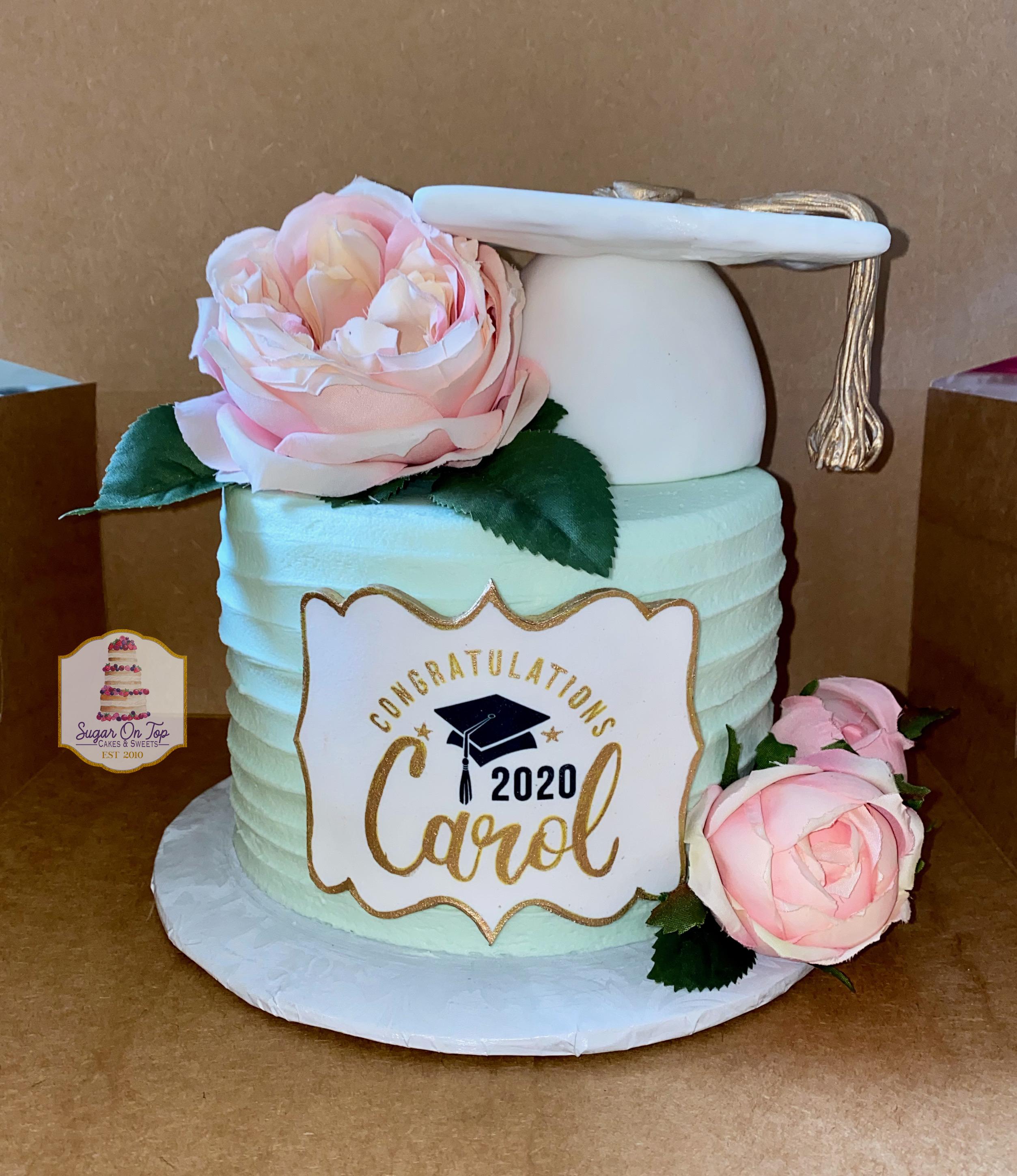 carol grad cake