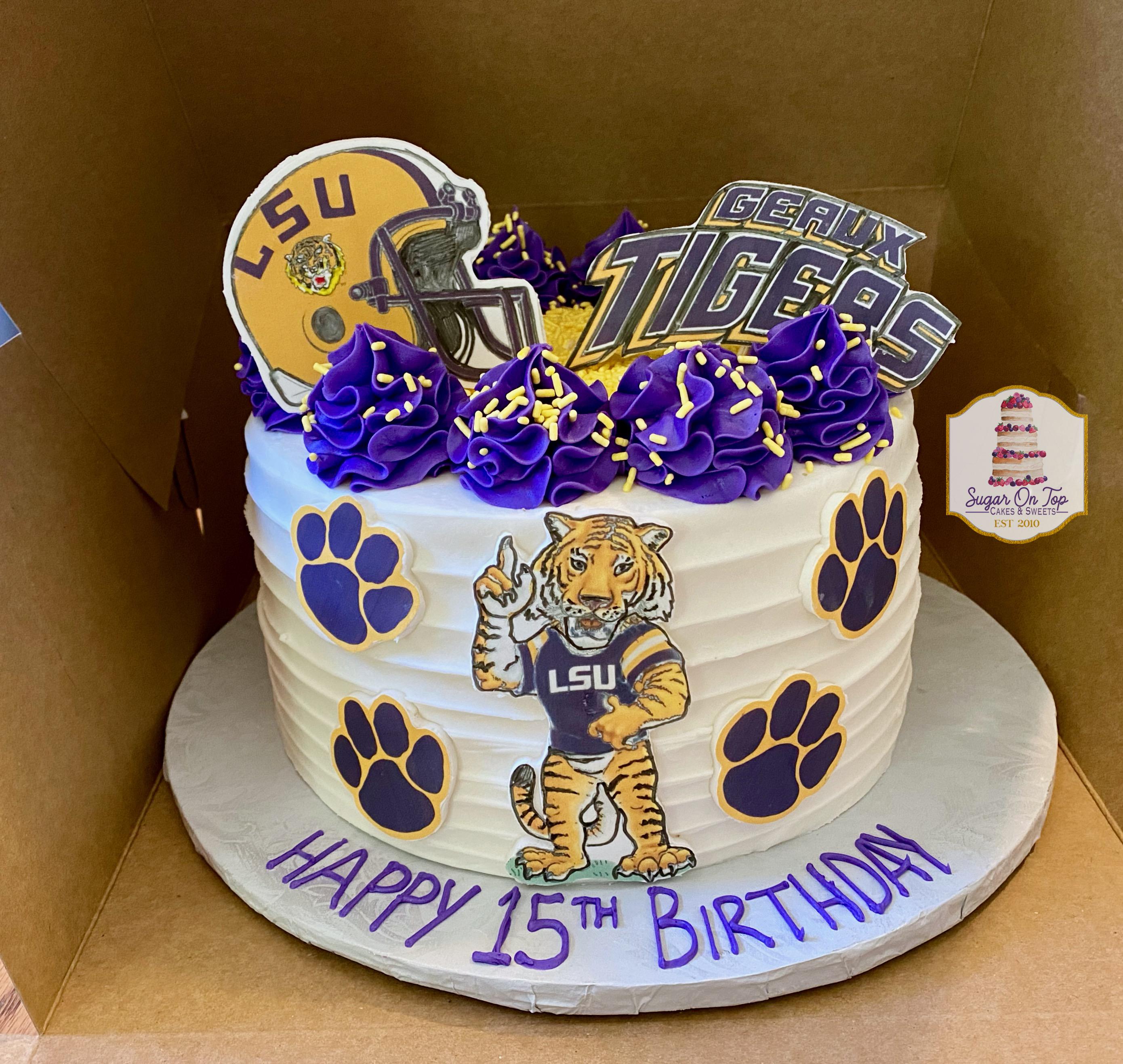 LSU cake
