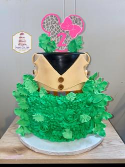 minni safari cake