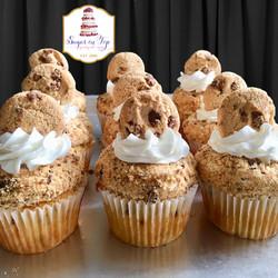 choc chip cupcakes