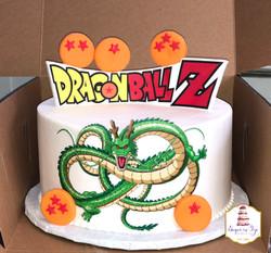 mark dragonballz cake