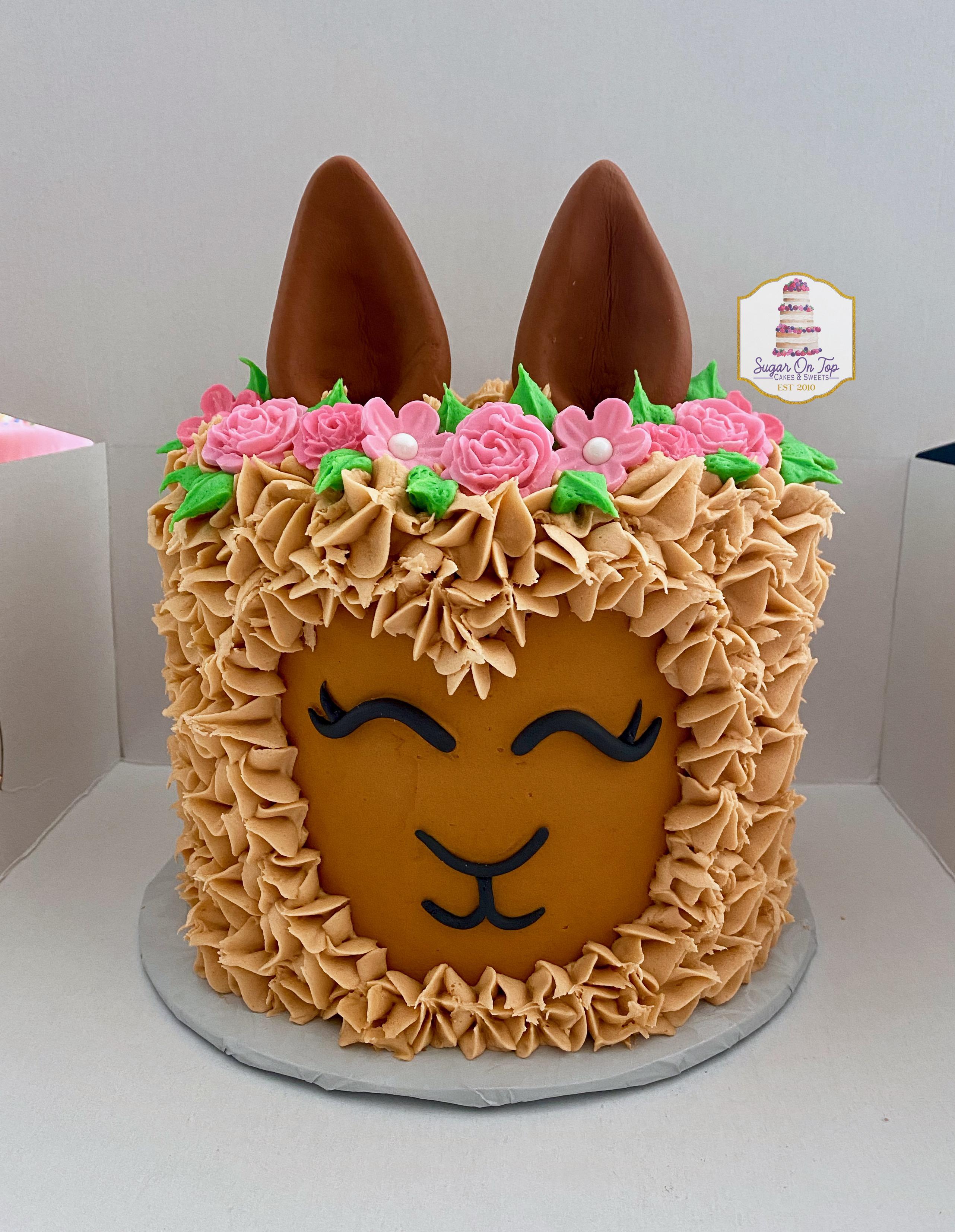 llama cake2