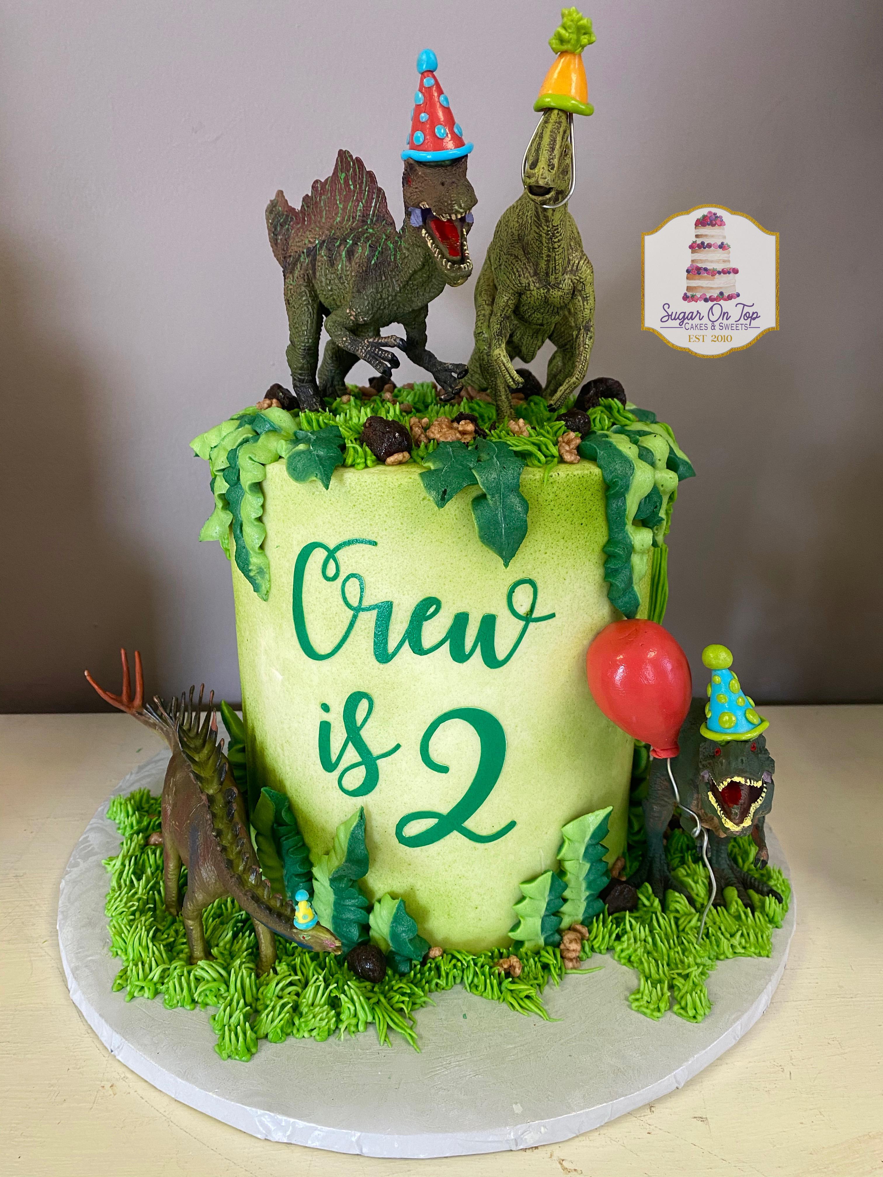 crew dino cake