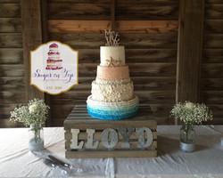 4tier beach cake (1)