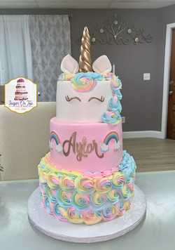 aylor rainbow cake