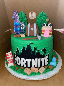 jayden fortnite cake