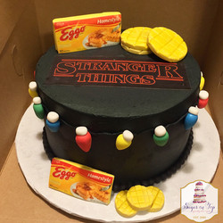 stranger things cake