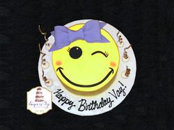 vay emoji cake