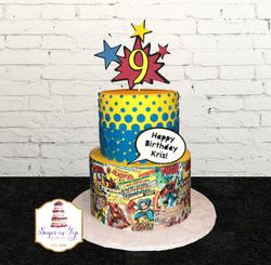 comic book cake 2