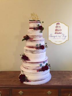 6 tier cake-nicholson