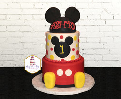 ashby mickey mouse cake