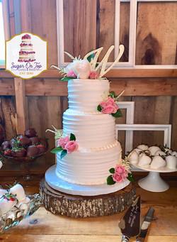 madison oak creek wedding cake