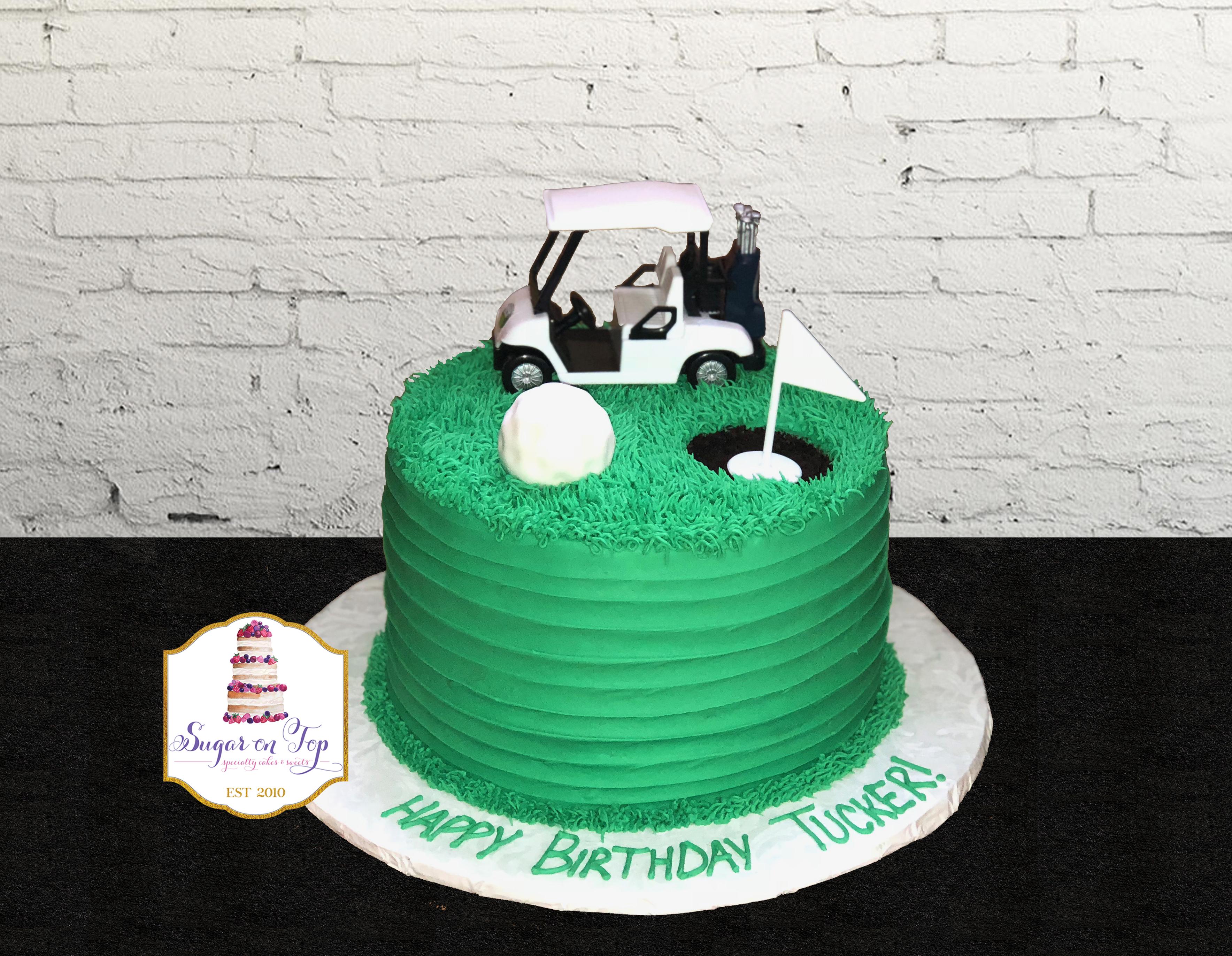golf cake TUCKER