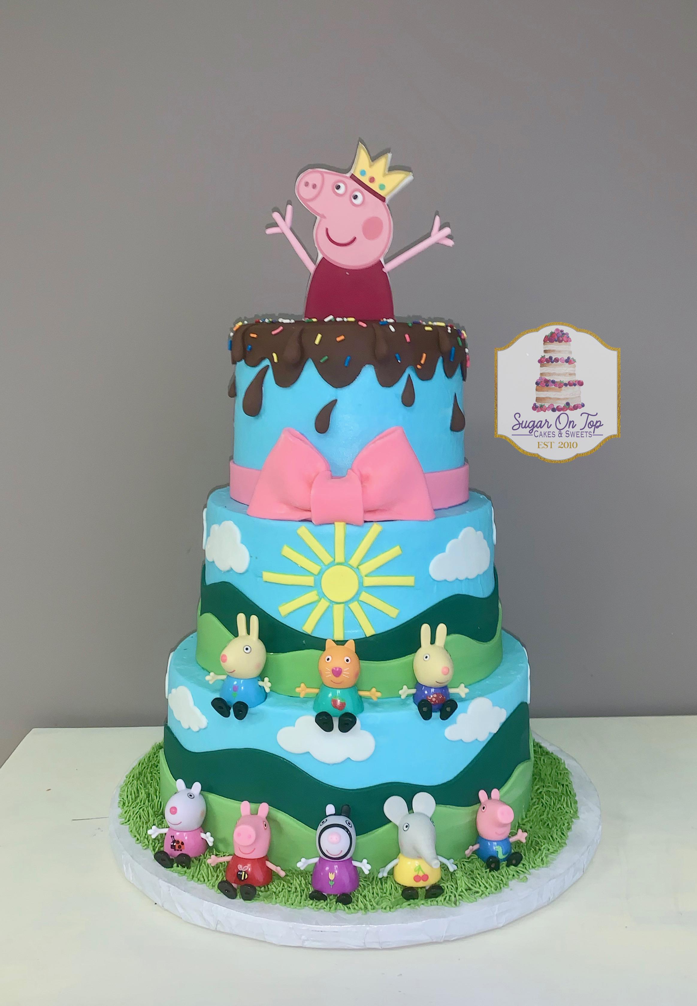 peppa pig cake copy
